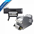 Digital PET HeatPress Print Machine and Shaking Powder  and Color Fixing Machine