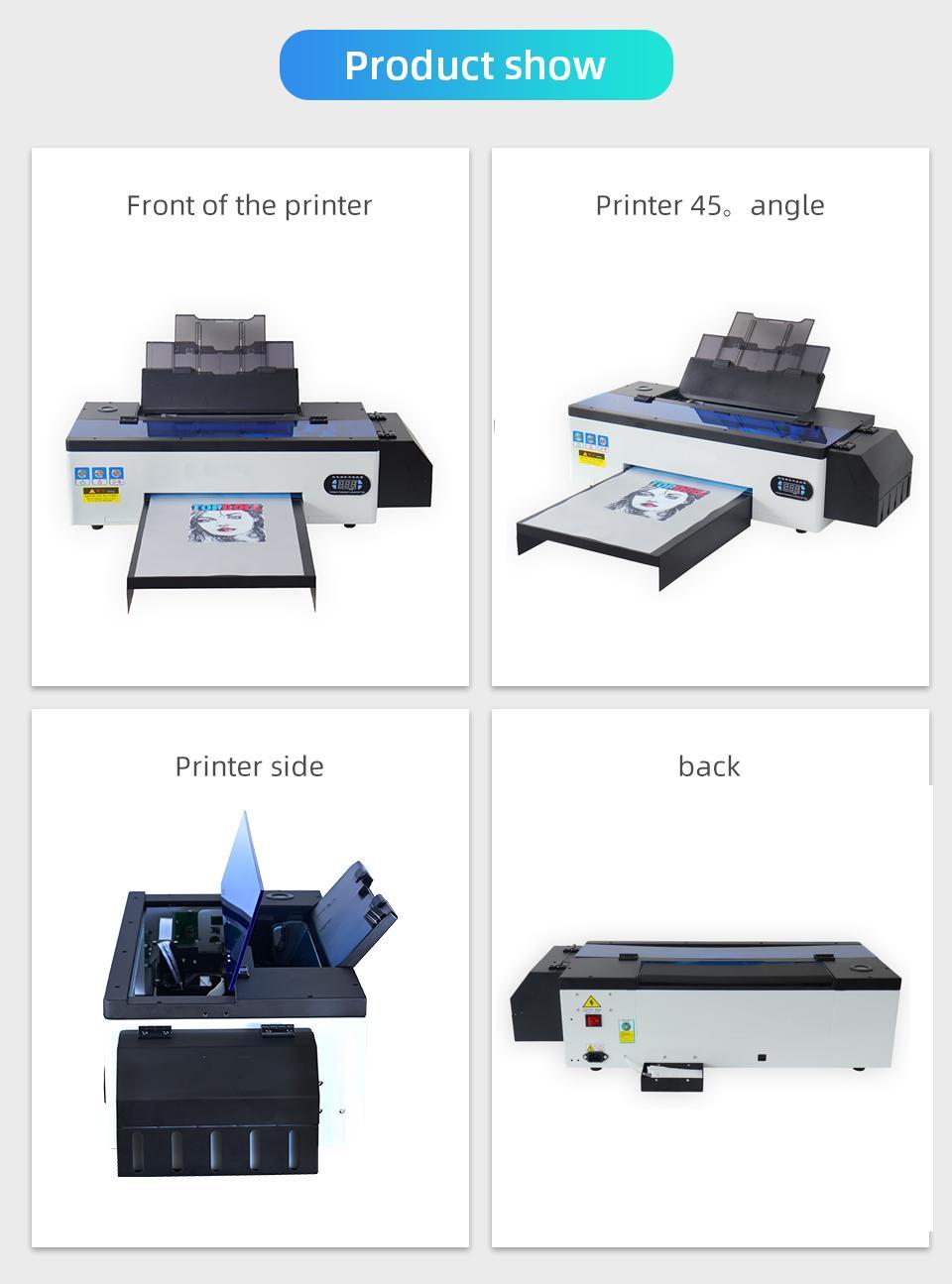 A3 R1390 DTF打印机 7