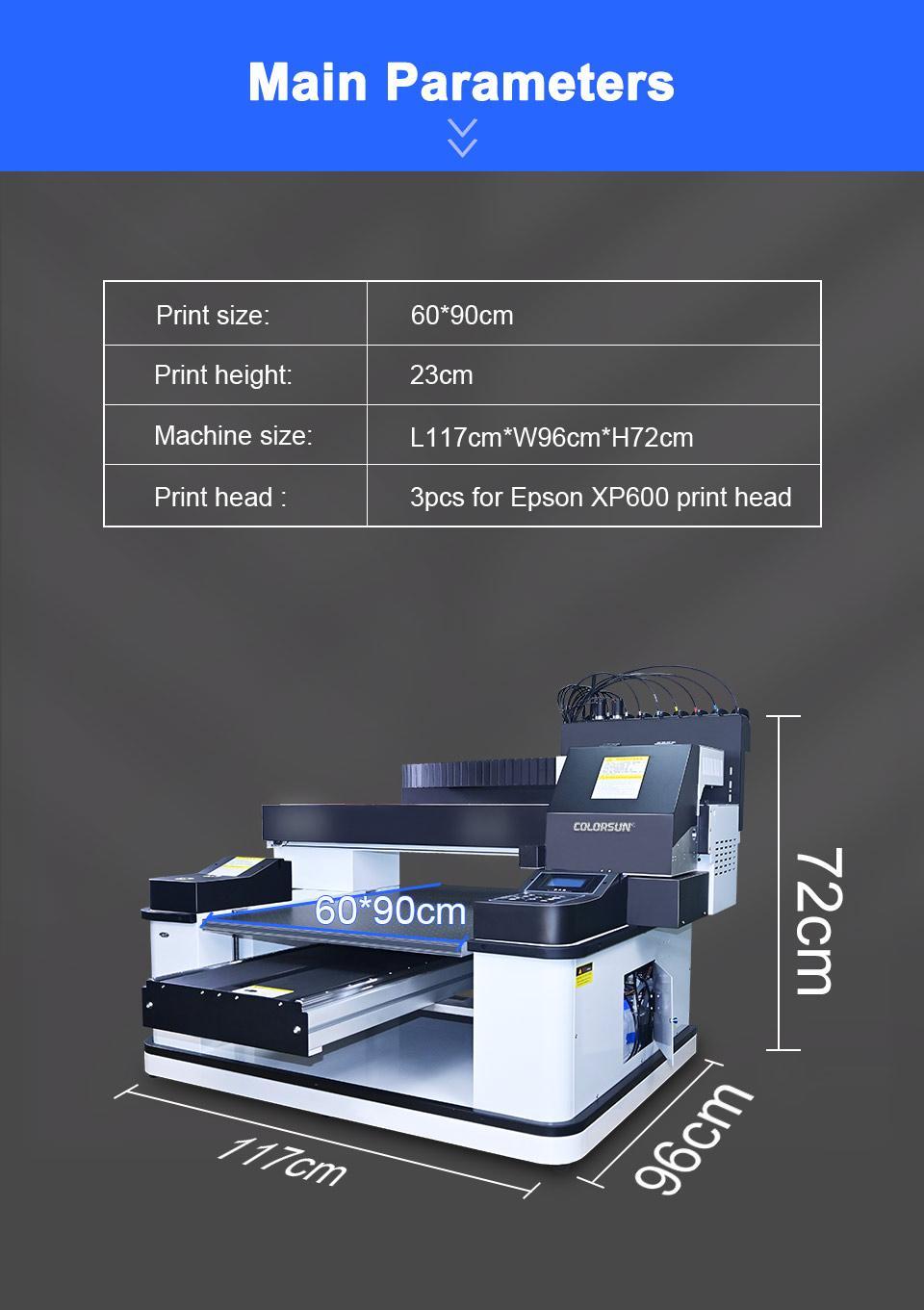 2021新款6090uv打印机 5