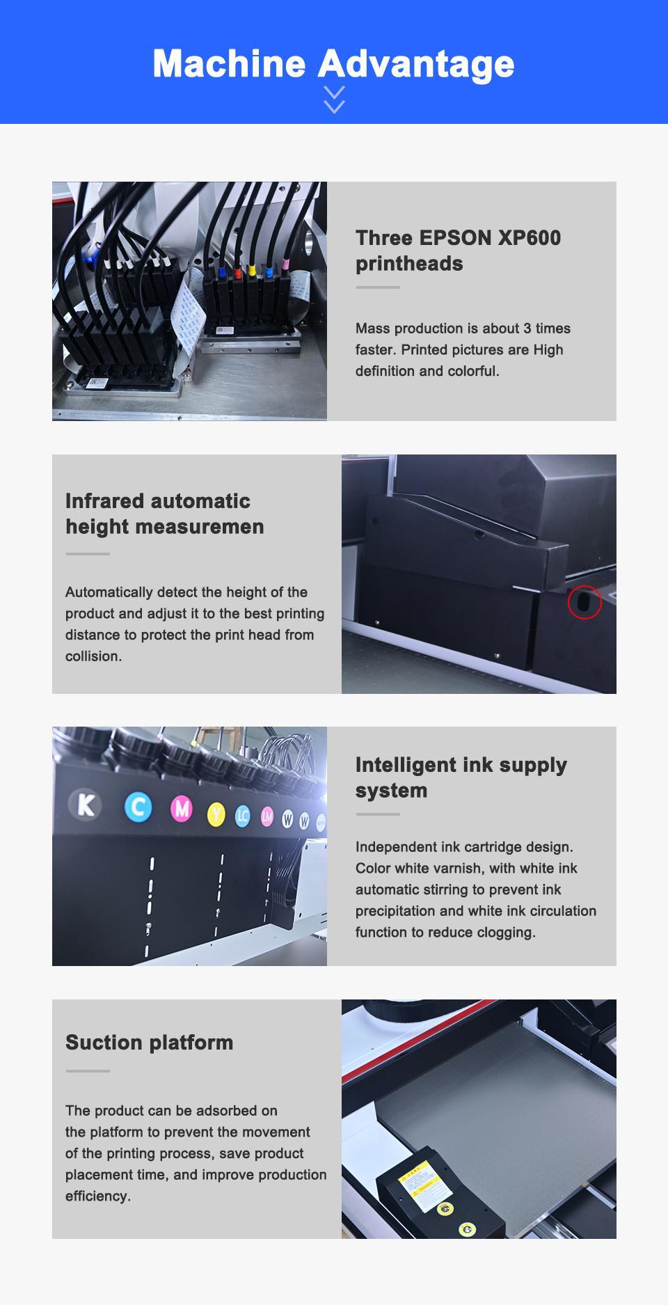 2021 NEW automatic 6090uv printer 7