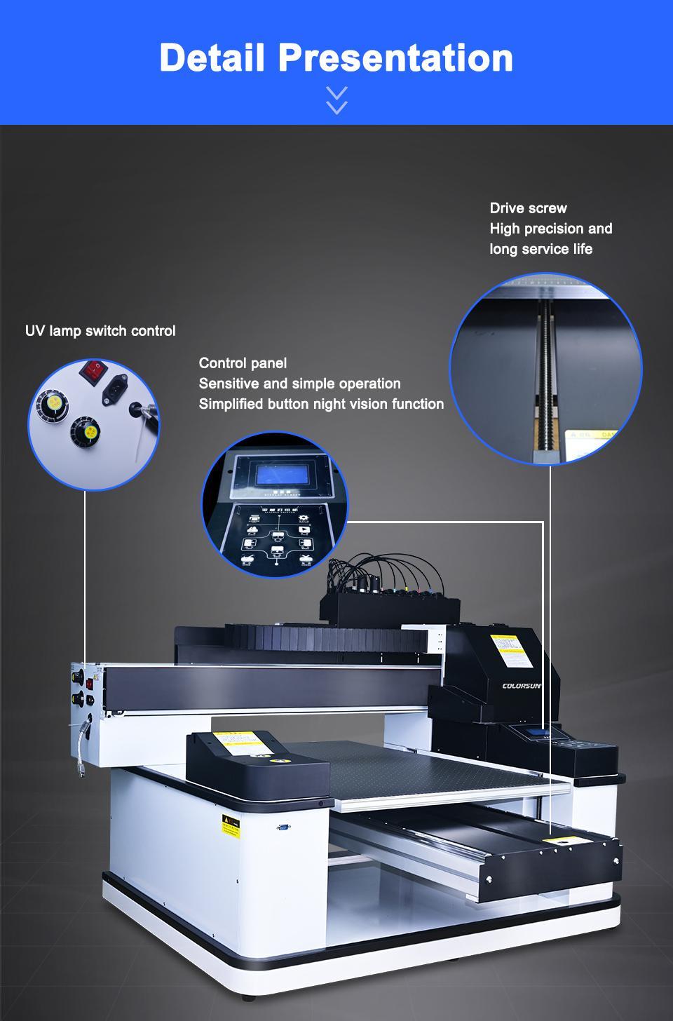 2021 NEW automatic 6090uv printer 8