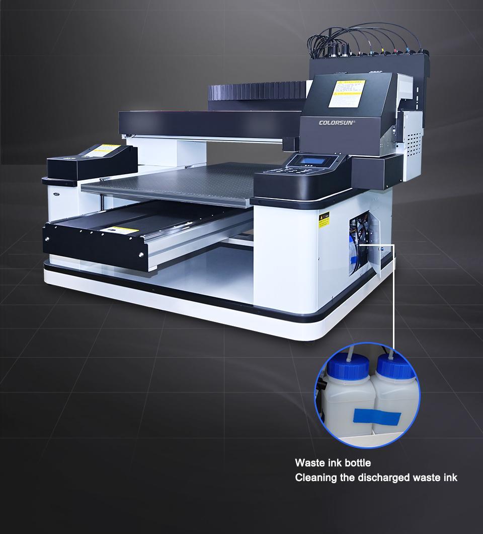 2021 NEW automatic 6090uv printer 9
