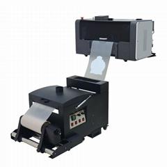 30cm寵物膜DTF XP600 T卹打印機A3尺寸衣卷DTF打印機
