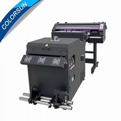 衣服大PET薄膜打印机A2尺寸DTF印刷机支持滚筒打印机