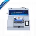 Ful Automatic A4UV MAX Printer 3d uv flatbed printer printing shop machines