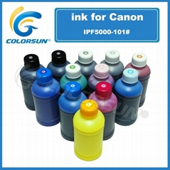 Water based pigment ink for Canon PFI-101 PFI-102 PFI-103
