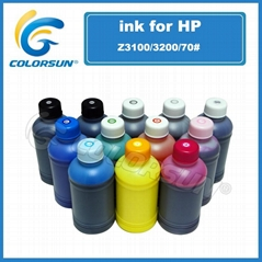 For HP Z3200 Plotter Inkjet Dye Inks Language Option  French