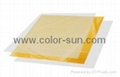 Instant PVC/PET Card - Gold Color