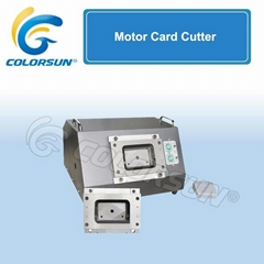 Motor Card Cutter(which can change mold)