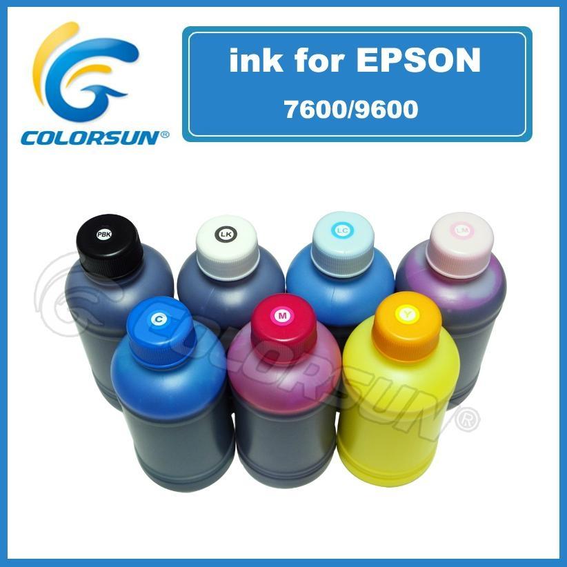 Qulity K3 Pigment printer ink for Epson 7600 9600 2100 4000 wide format printer
