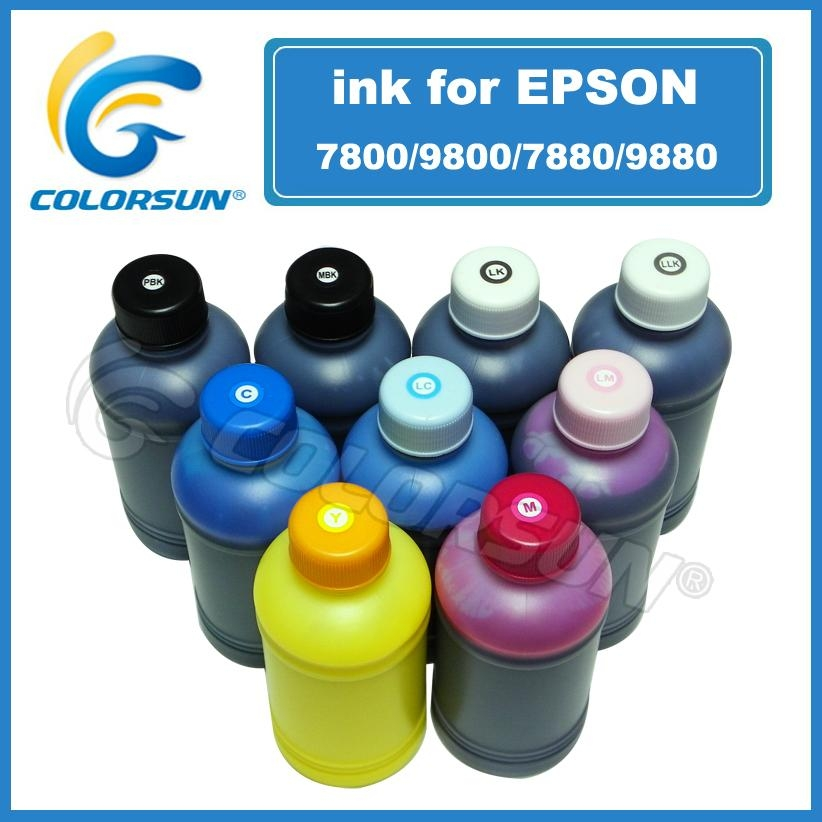 K3 Pigment inks for use with Epson 7800/9800/7880/9880/4880