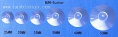 塑料PVC吸盘环保PVC吸盘塑料夹子塑胶帽塑料磨菇头