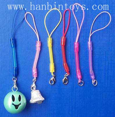 塑胶弹簧手机扣手机挂绳手机饰品手机吊绳 3