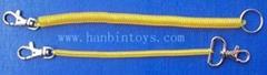 塑料彈簧鑰匙扣勾扣挂鉤挂扣五金組合小五金玩具配件