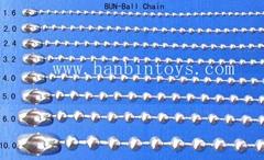 五金彩色珠链波子链链条玩具配件