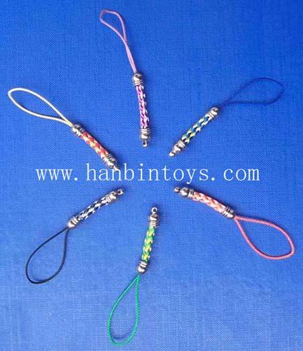 塑胶弹簧手机扣手机挂绳手机饰品手机吊绳 4