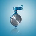 Wafer type carbon steel butterfly valve