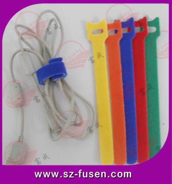 彩色魔术贴电线捆扎带 5