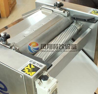 Gb 400 fish skin peeler machine video fengxiang for Fish skinner machine