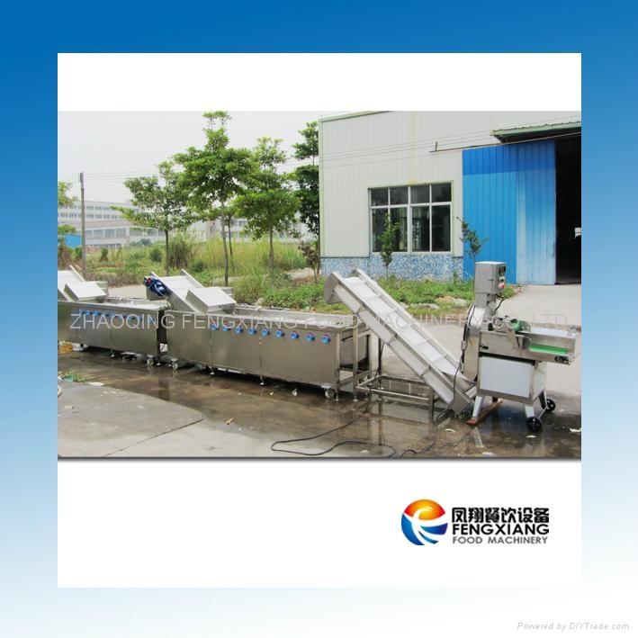 FW-2000 蔬菜切割清洗生产线 3
