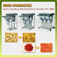 (FC-308)  Garlic Grinding Machine,Onion grinder & VIDEO