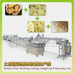 French fry potato chips line (Hot Product - 1*)