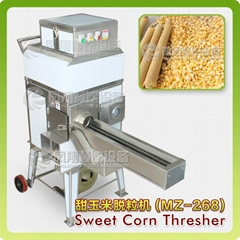 high speed good quality sweet corn thresher for sweet corn process