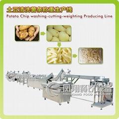 Potato Chip Washing-cutting-weighting Producing Line (Hot Product - 1*)