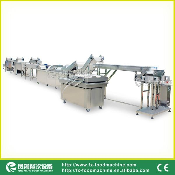 Potato Chip Washing-cutting-weighting Producing Line 1