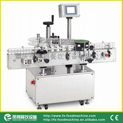 Rould Bottle Label Sticking Machine & Video