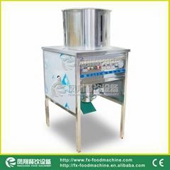 (FX-128) Garlic Shallot Skin Peeling Machine/ Manufacturer & Video