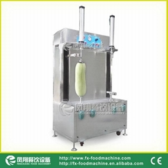 (FXP-99) Double-head Pumpkin Peeling Machine and Melon Separating Machin & Video (Hot Product - 1*)