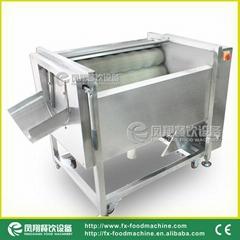 (MSTP-80-1)  胡萝卜皮机/ 土豆清洗脱皮机