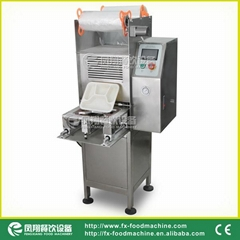 (FS-600) Fast Food Box Sealing Machine & Video