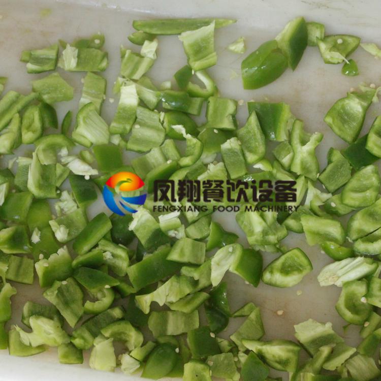 (FC-305) Pepper Slicing Machine/ Chilli Cutter/ Pepper Cutting Machine & Video 7