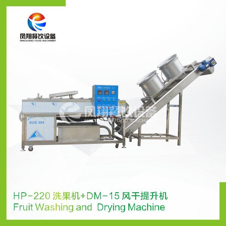 HP-220 Fruit washing and drying machine 2