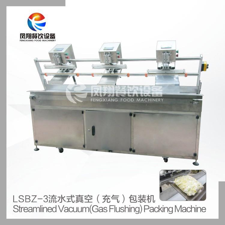 LSBZ-3 流水式真空 充气 包装机  2