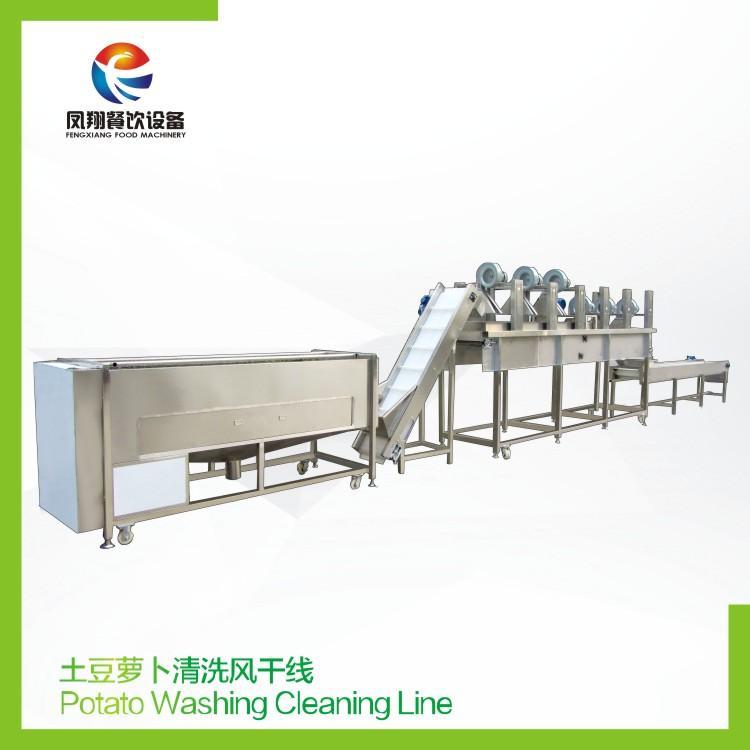 Potato Washing Cleaning Line