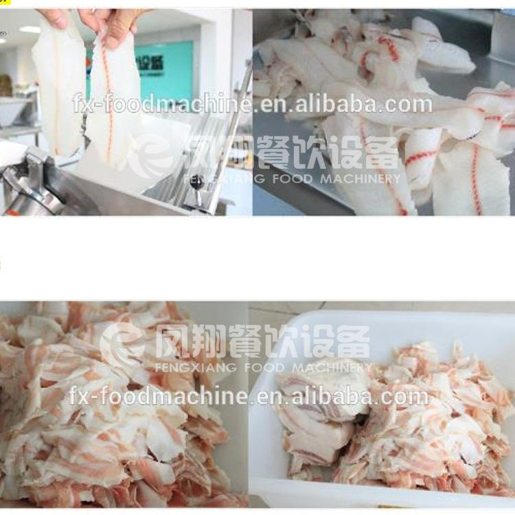 FQP-380 Frozen meat slicer 3