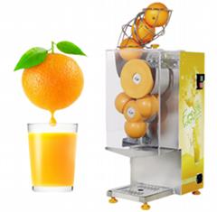 ZC-B3高效自动鲜橙榨汁机 吧台自动橙汁机