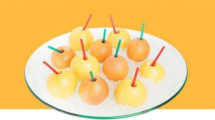 Fresh Fruit Juicer Machine Pitaya / Orange Fresh Fruit Juicer 6