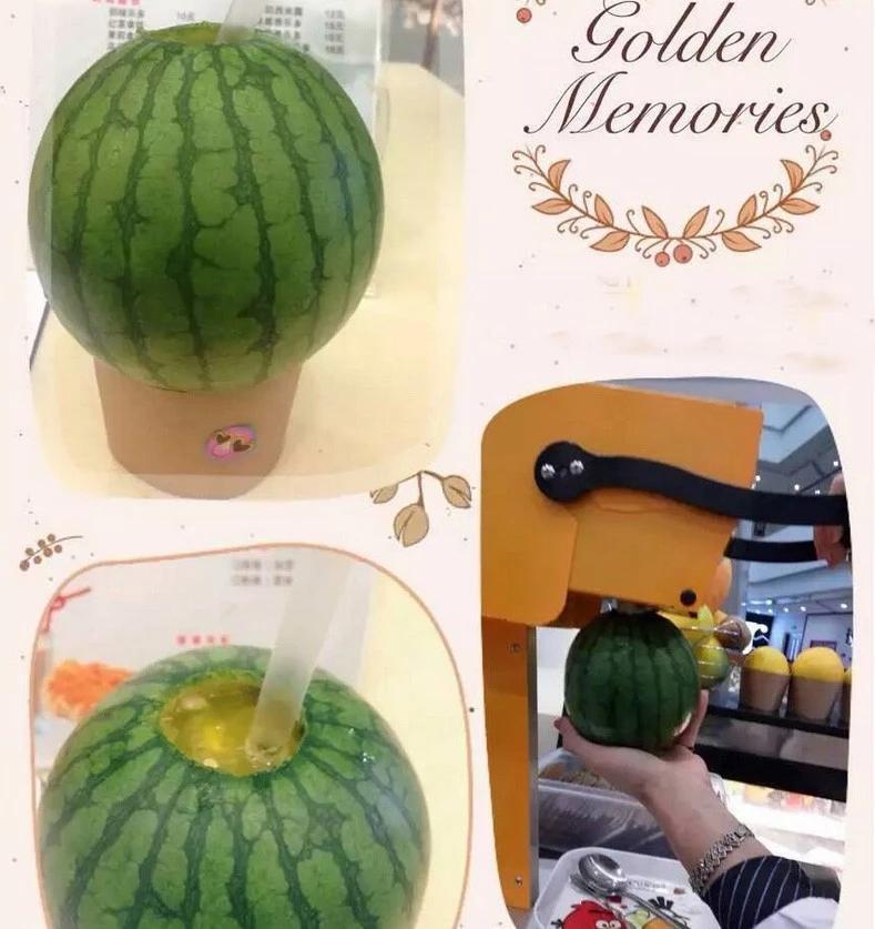 Fresh Fruit Juicer Machine Pitaya / Orange Fresh Fruit Juicer 7