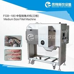 FGB-180 中型剖魚片機 三枚