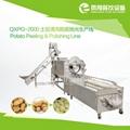 QXPG-2000 土豆清洗脱皮抛光生产线 2