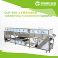 DUP-5000 Upper and lower spray cleaning machine