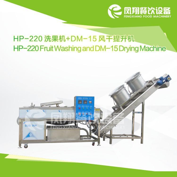 HP-220 Fruit washing and drying machine