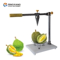 Manual durian shell opening machine