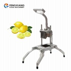 Small professional lemon slicing machine