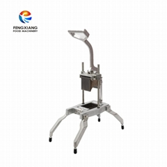 Manual     cutting  potato  tooth strip  machine