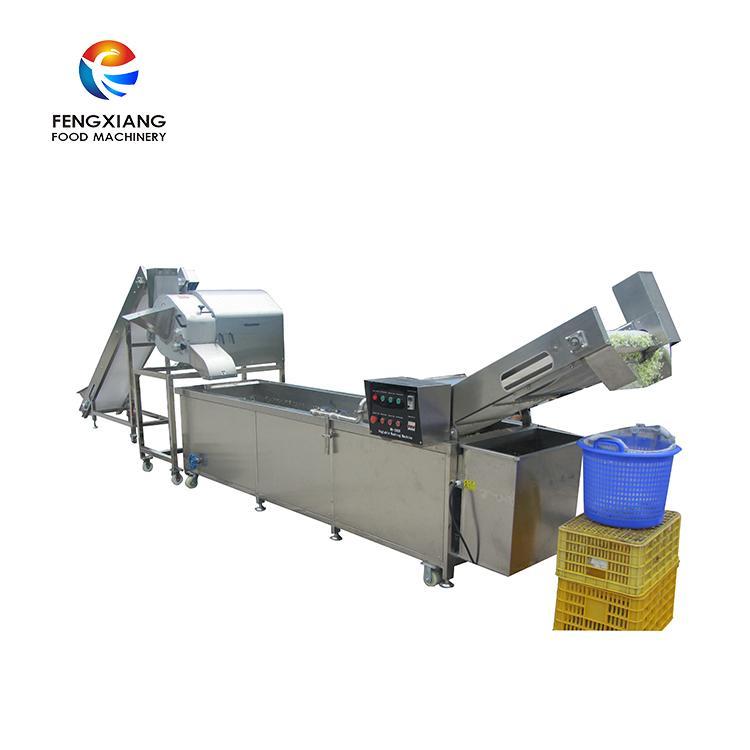 高麗菜切丁清洗生產線 1